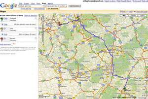 Maps and directions for driving