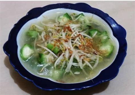 membuat capcay sayur cara membuat sayur oyong cur tauge sedap resep harian
