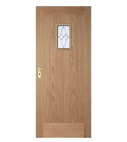 Cottage Oak Triple Glazed Door External Hardwood Doors Howdens Exterior Doors