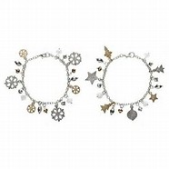 Elegant Gold and Silver Christmas Ornaments
