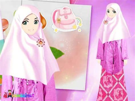 gambar wallpaper muslimah cantik kartun gambar muslimah yang cantik selamber jer auto
