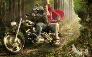 Little Red Riding Hood Parody  Fairy Tales & Fables Wallpaper