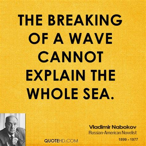 All The Breaking Waves A Novel vladimir nabokov quotes quotesgram