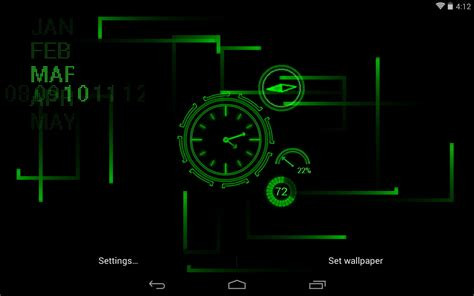 real time clock wallpaper wallpapersafari