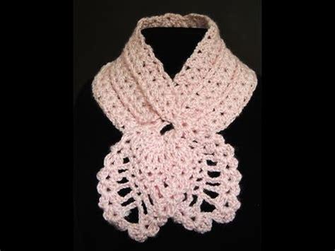 cuello bufanda en crochet paso a paso funnycat tv como tejer una bufanda de cuello corto tutorial