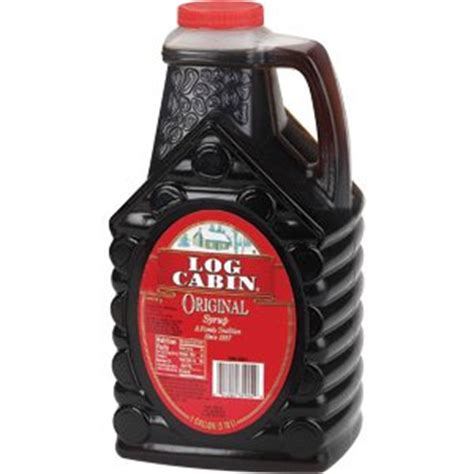 amazoncom log cabin original syrup  pound maple syrups grocery gourmet food