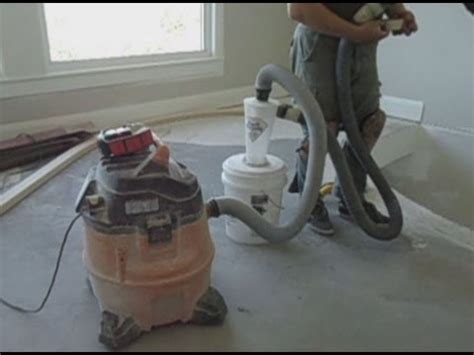 How to Set Up Concrete Floor Grinding Tools: Vacuum, Dust