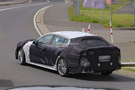 Kia Gt Production 2018 Kia Gt Leaked In Near Production Form Debut Imminent