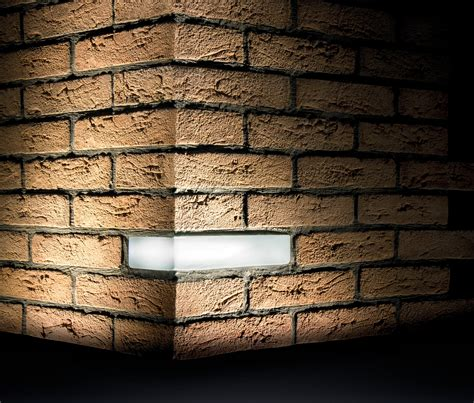 brick light wall recessed outdoor recessed wall lights