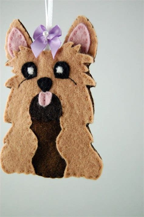 felt yorkie pattern 600 best felt dogs images on pinterest felt dogs felt