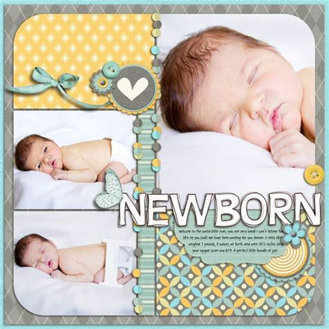 scrapbook templates baby 2223 best scrapbooking baby images on pinterest baby