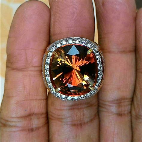 Sherry Brown Topaz 4 63 Crt dunia permata