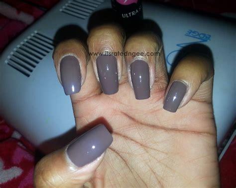 diy gel nails without uv l diy gel manicure fall series pt 1 smoky brown beaut 233 n