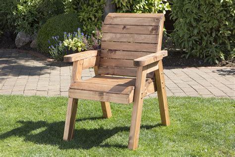 UK Handmade Fully Assembled Heavy Duty Wooden Garden Arm