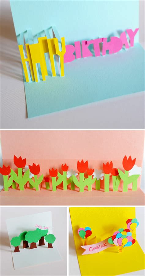 diy s day pop up card template c 243 mo hacer tarjetas 3d para toda ocasi 243 n