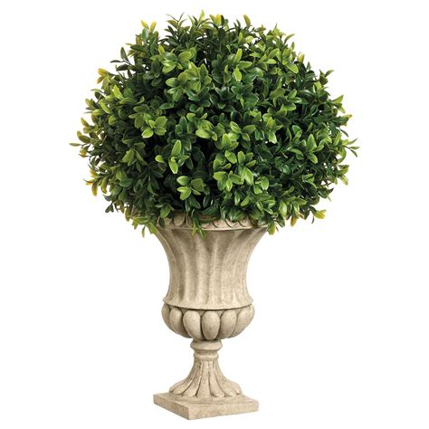 Artificial Topiaries - the many styles of artificial ball topiaries