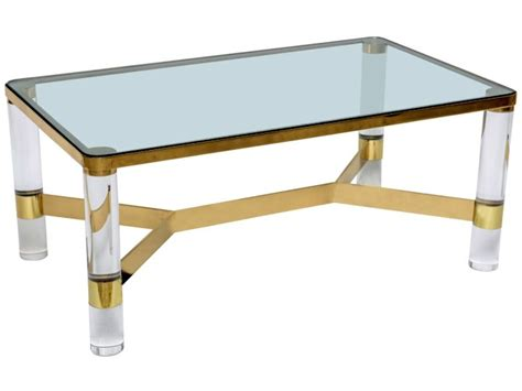 Glass Top Square Lucite Coffee Table Lucite Coffee Tables Glass Top Coffee Tables For Sale