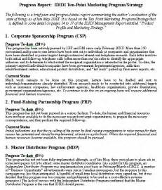 Construction Progress Report Writing by Progress Report Format Sle Format For A Typical Progress Report