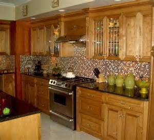 Small Tile Backsplash In Kitchen by Backsplashes This Kitchen Backsplash Uses Small