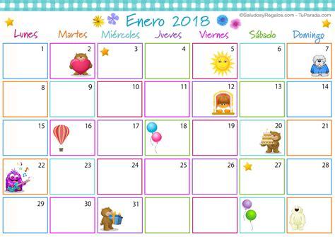 Calendario 2018 Enero Calendario Multicolor Enero 2018 Calendario Multicolor