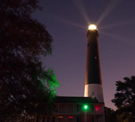 The Shining Light by The Shining Light Of Pensacola Photograph By Drew Green