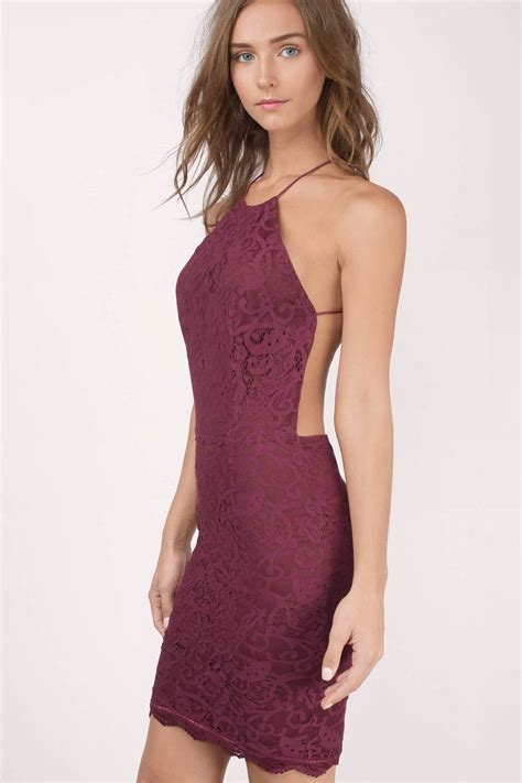 New Produk G Dress Jodyn burgundy dress backless dress purple jacquard dress