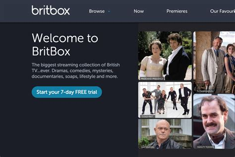 britbox on tv britbox a streaming service for british tv from bbc and