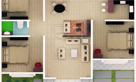 denah rumah minimalis  lantai  keren