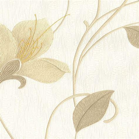 opus wallpaper juliet green opus juliet floral wallpaper neutral 33770 wallpaper
