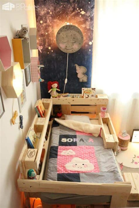 etagere selbst bauen toddler bed with pallets 1001 pallets
