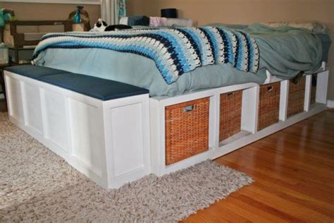 build your own platform bed platform storage bed build your own for the home