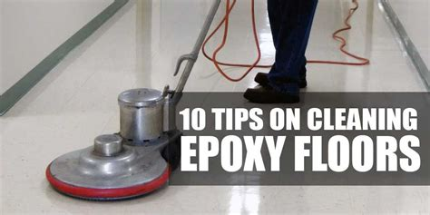 How To Clean Epoxy Floor by 10 Tips On How To Clean And Maintain Epoxy Garage Floor