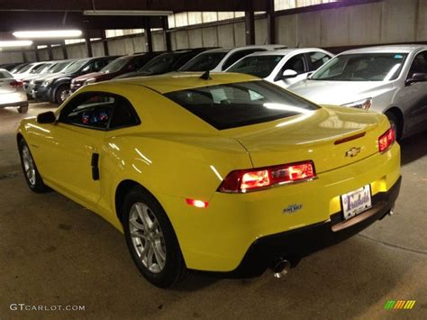 Bright Ls by 2014 Bright Yellow Chevrolet Camaro Ls Coupe 88531825