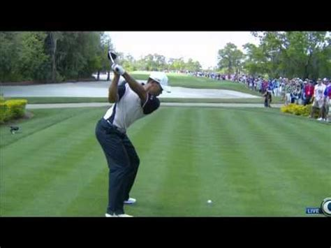 tiger woods slow mo swing tiger woods ultra slow motion driver torrey pines
