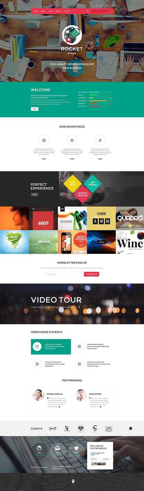 web design drupal theme