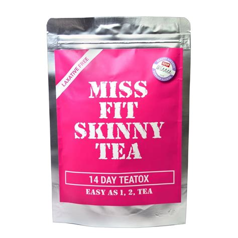 Moderate Detox Diet by Miss Fit Tea 14 Day Detox 35g