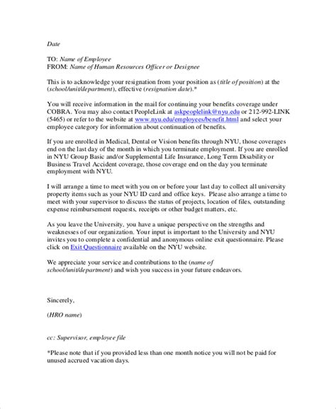 resignation letter by email resume cv cover letter