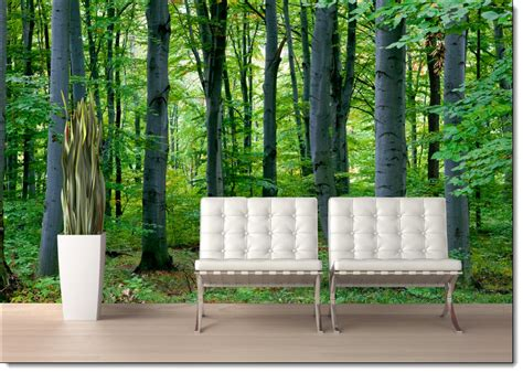 woodland wall mural woodland forest peel and stick wall mural