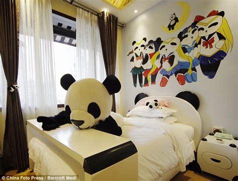 panda bedroom panda hotel china to open hotel dedicated to the panda