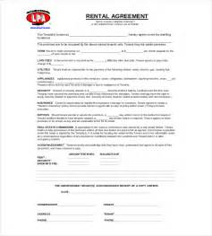 Simple Car Rental Agreement Template Word Rental Agreement Template 20 Free Word Excel Pdf