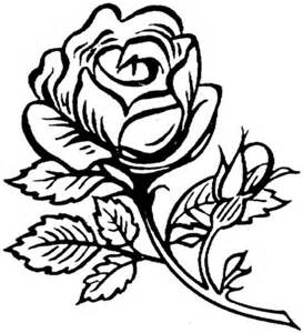 Flower Roses Coloring Pages For Adults sketch template
