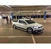 VW Saveiro Cross G6 Com Rodas Volcano NEW Santorini Aro 18