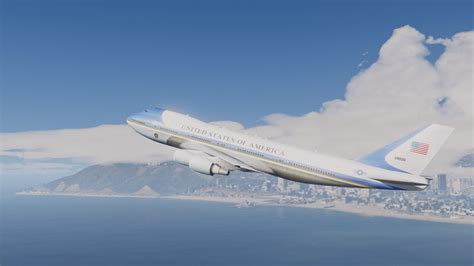 gta 5 air one boeing air one boeing vc 25a enterable interior add on