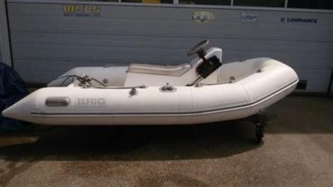 rubber boot met motor en stuur rib brig 330 met 15pk yamaha met stuur en afstandbediening
