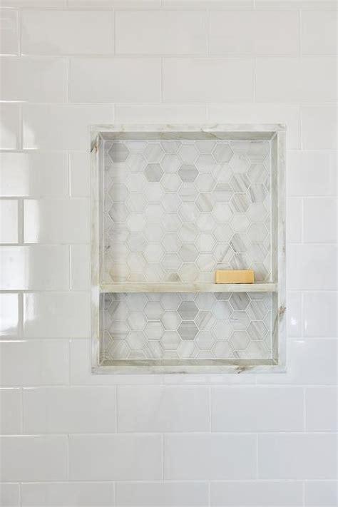 subway tile shower niches bathrooms pinterest marble shower niche design ideas