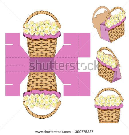 Baby Gift Set Paket Kontainer Lusty Bunny stock images similar to id 272278922 box design die