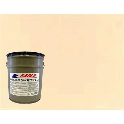 home depot paint with sand eagle 5 gal aztec sand solid color solvent based concrete