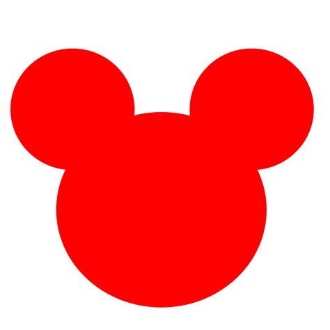 Superior Christmas Tie #5: Mickey-mouse-face-clip-art-17.png