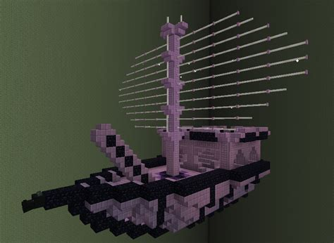 minecraft grian boat better end ship minecraft