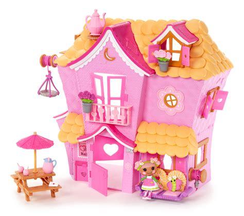 lala loopsy doll house lalaloopsy mini lalaloopsy sew sweet house toys